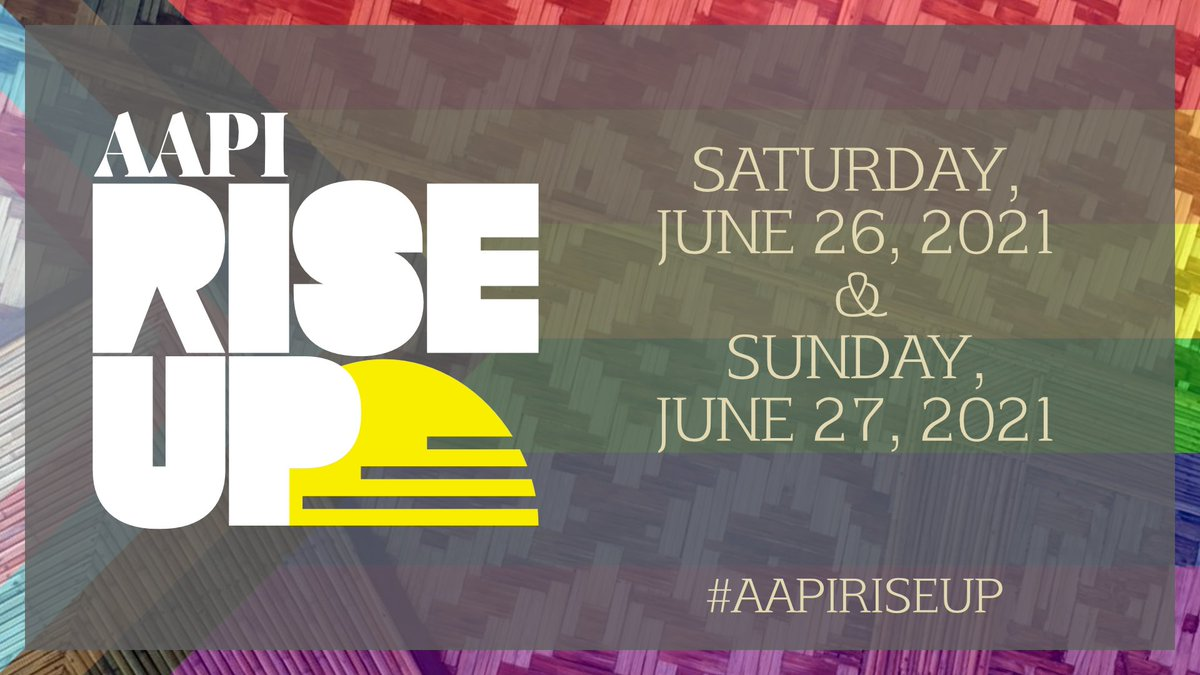 Save the date! #AAPIRiseUp is back on June 26th and June 27th! I'll be playing some #Phasmophobia to raise money for the #StopAAPIHate Org! There will be donation incentives that will influence the game. Come support all these wonderful content creators!  https://t.co/bkzBtmNM6k https://t.co/W7wZ1jLoUE