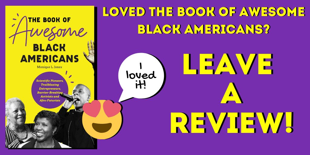 Did you love The Book of Awesome Black Americans? Leave a review and help the book climb the ranks of https://t.co/CZ7XyQ01IJ! Link to buy: https://t.co/qBq4FFObqm #AfricanAmerican #BlackAmerican #author #Black #BlackHistory #books #authorsoftwitter #booksoftwitter https://t.co/VlrcyXOi6L