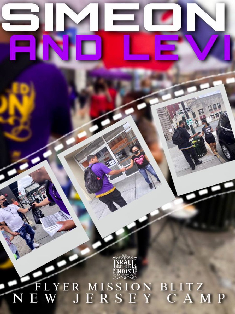 #Simon and #Levi Flyer Mission #Blitz In New Jersey #waking up the so called #Dominicans and #Haitians who are the Mighty #tribes of Simeon and Levi!!!🚨🚨🔥🔥🔥  Build with us by following:  #Facebook: IUIC JERSEY #YouTube: IUIC NEW JERSEY #Instagram: @iuic_jersey  #iuic  #god https://t.co/Ytdv5yzVkt