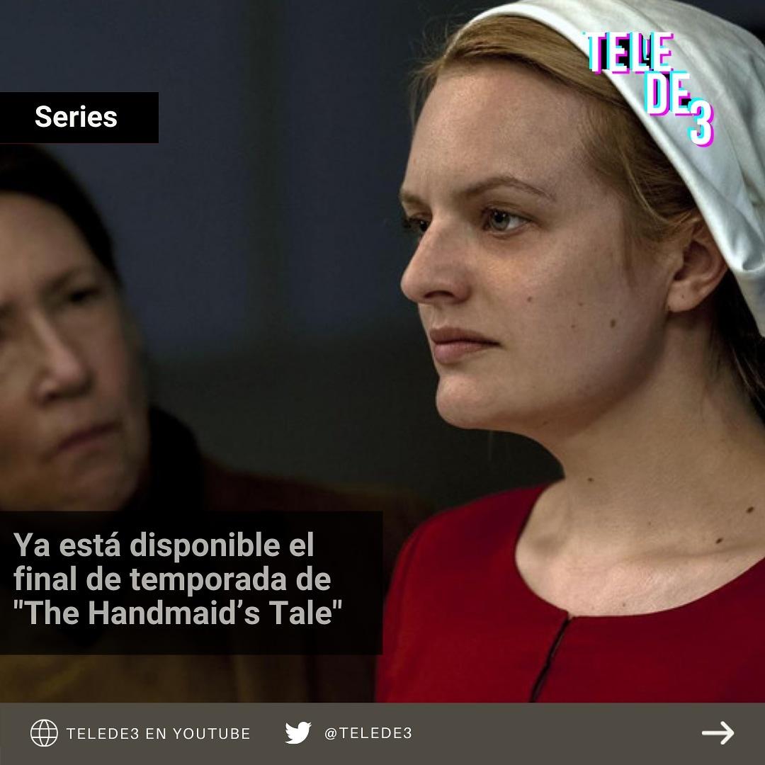 """Hoy llega a su fin la cuarta temporada de #TheHandmaidsTale o """"El Cuento de la criada"""" disponible actualmente en la plataforma de streaming #Hulu  👉🏼Detalle en nuestro #instagram https://t.co/OFghrraUaY"""