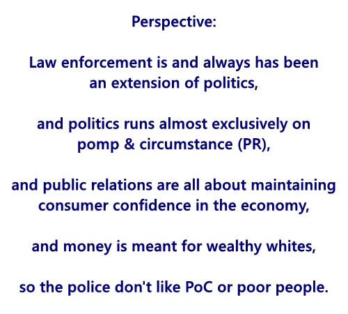 #America #Racism #SystemicRacism #Poverty #Economics #Politics #Police #LawEnforcement #PoliceBrutality #Humanity    Law enforcement is and always has been an extension of politics... https://t.co/ydR1ZFYLbk