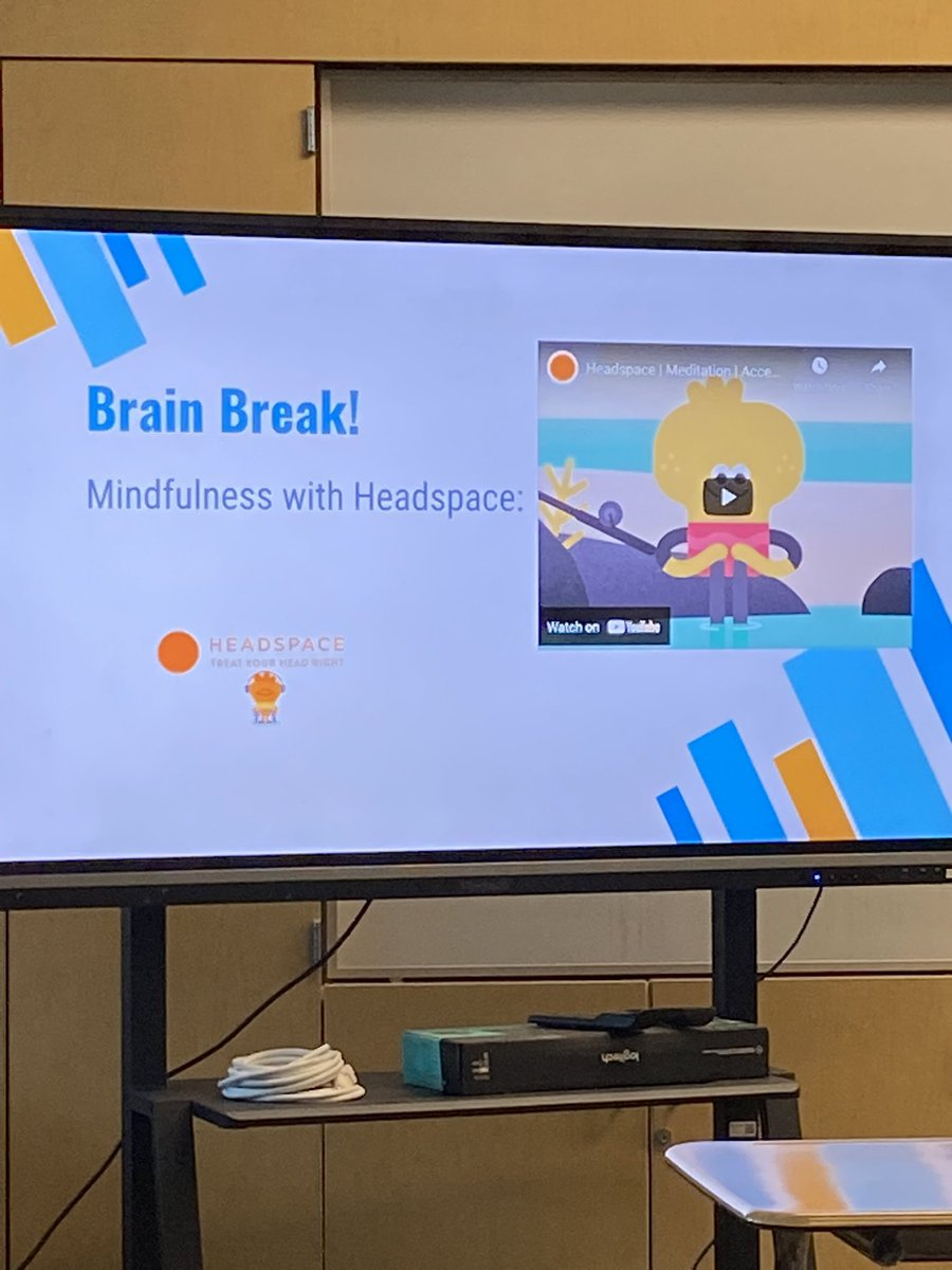 Freshman success with Brain breaks and meditation! 💆🏻♀️🙇🏼 #selflove #MentalHealthMatters @PDHScounseling https://t.co/M60S5wKdfv