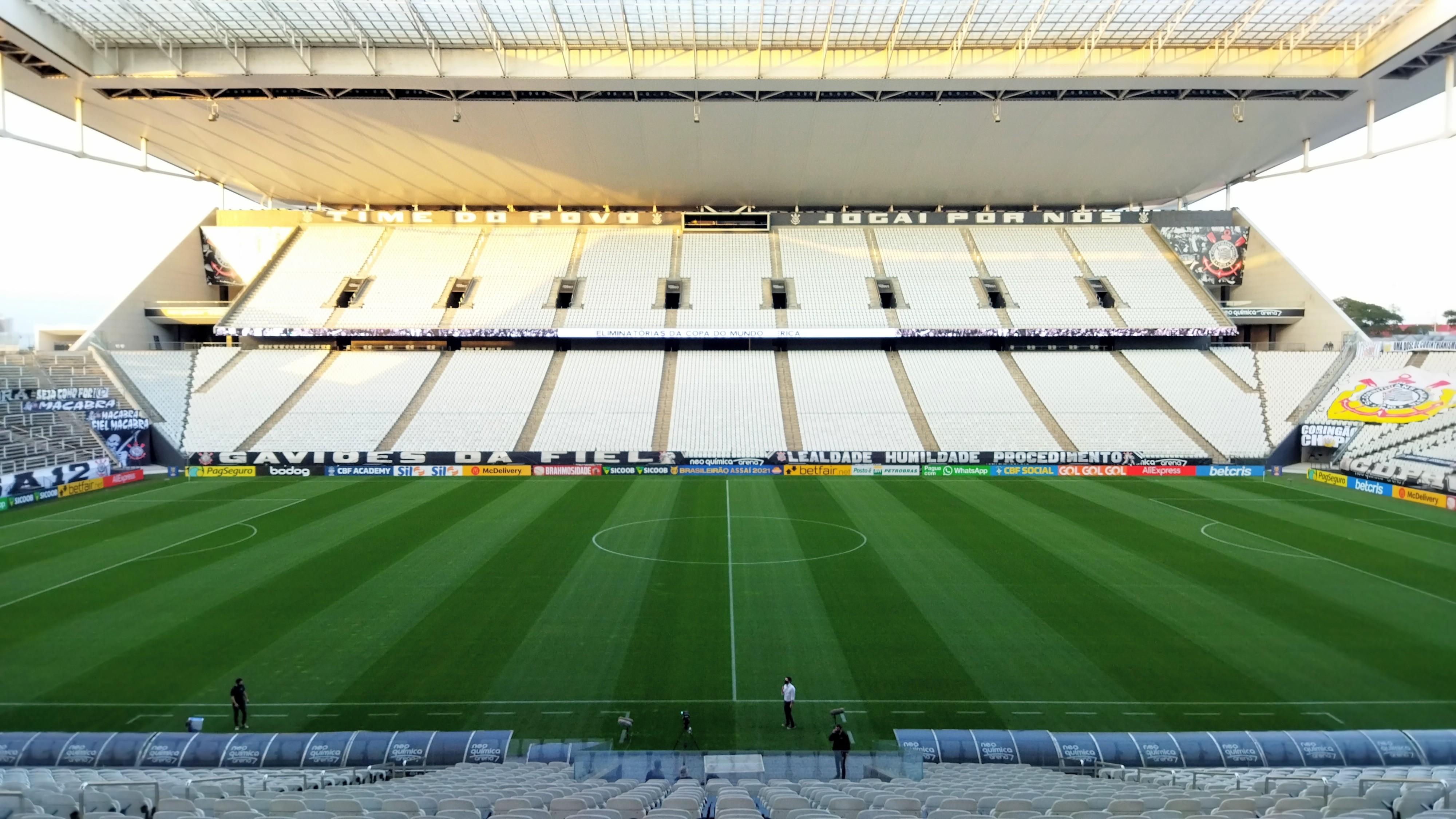 Não assistiu ao jogo? Leia aqui o resumo e ficha técnica da partida entre Corinthians e RB Bragantino pelo Campeonato Brasileiro