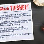 "Image for the Tweet beginning: NEW Judicial Watch Tipsheet: ""The"