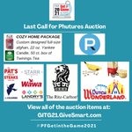 Image for the Tweet beginning: Bid on some incredible packages