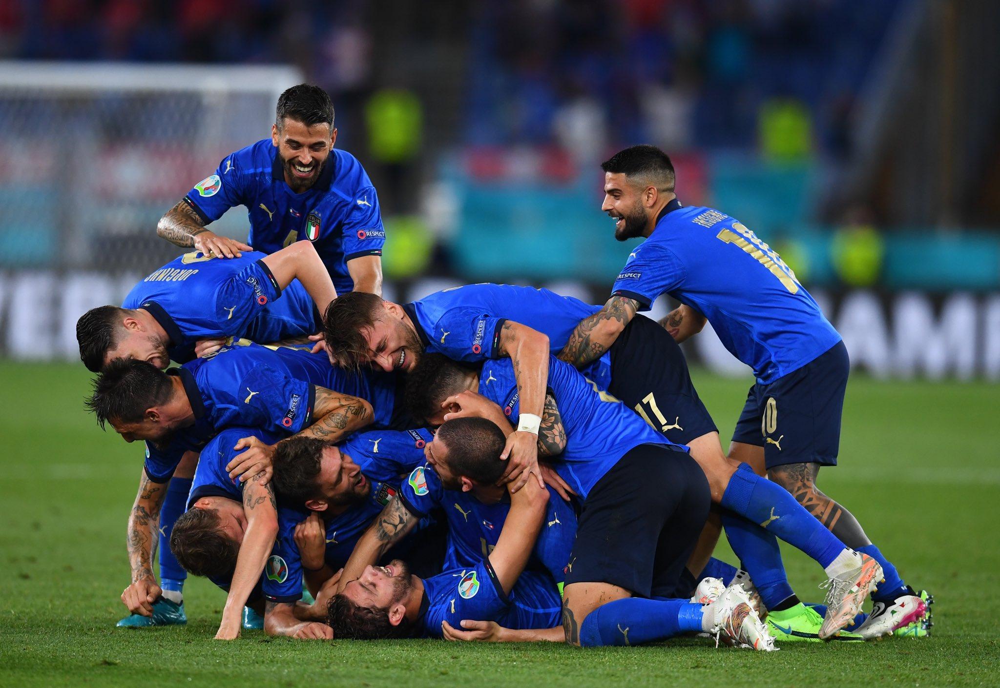 EURO2020:Italien Enthusiasmus, Ideen, Demütiger Ruhm, Eine Staffel= 3:0 gegen Schweiz.