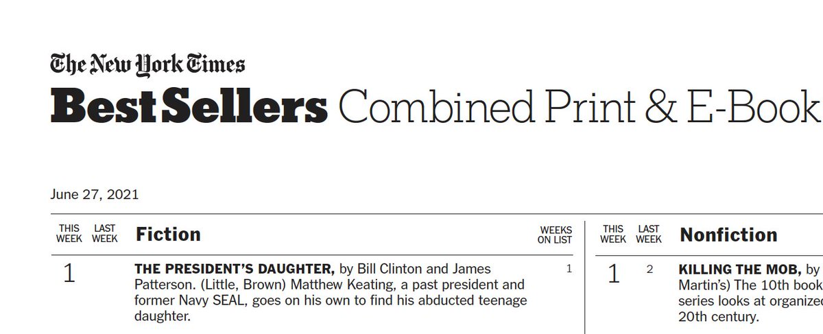 """Thanks to all the readers of """"The President's Daughter""""—I hope you enjoyed it!"""