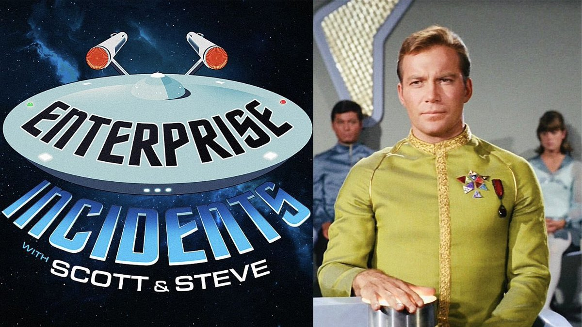 """On the next """"ENTERPRISE INCIDENTS,"""" Captain Kirk stands trial in the #StarTrek classic """"COURT MARTIAL"""" — Join us THIS SUNDAY for our deep-dive (with a VERY SPECIAL GUEST!), and be sure to LISTEN & SUBSCRIBE to our first 14 episodes HERE: https://t.co/RAz4hVMEmB https://t.co/JxPFjBlU2s"""