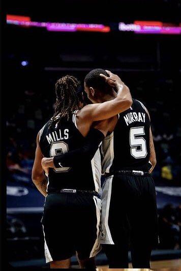 このペアもらぶ #NBACommunityAssist  @Patty_Mills #PattyMills https://t.co/rWwxF4xLhz