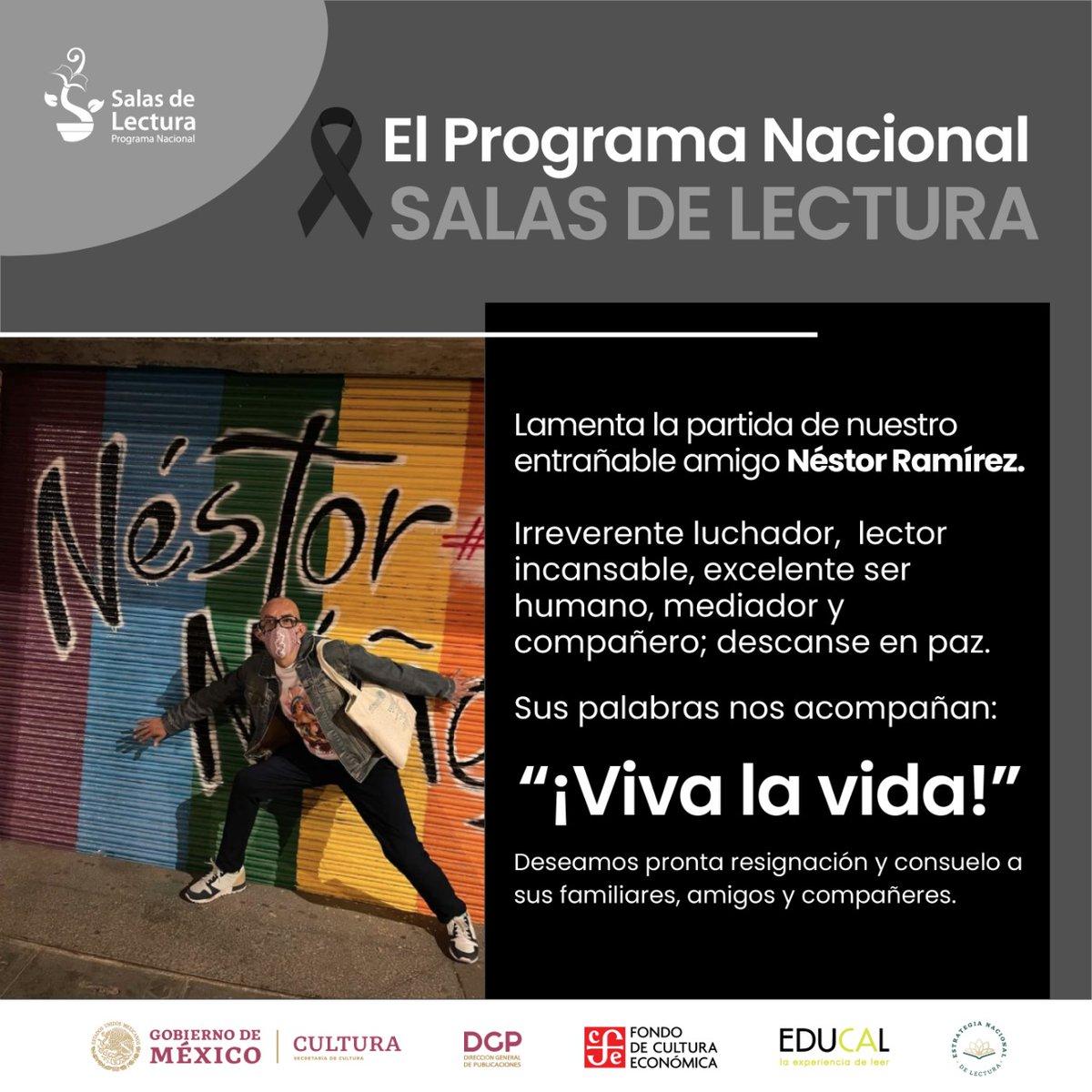 @Salasdelectura's photo on Nestor