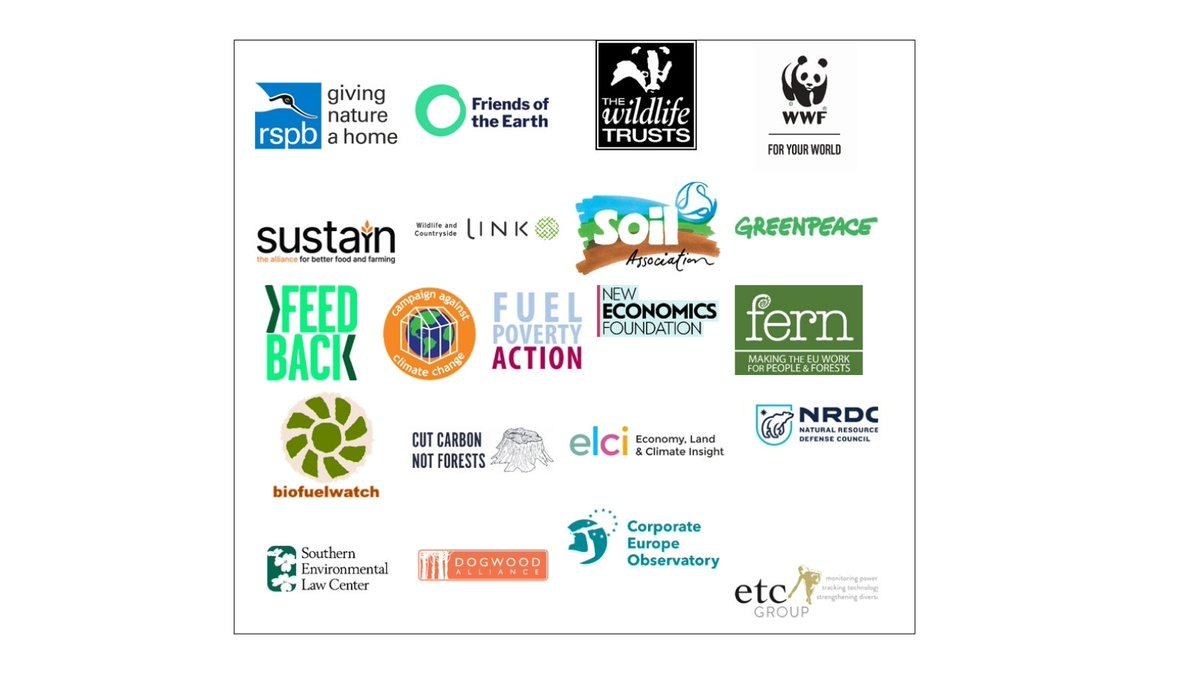 We're all calling on the UK to end reliance on large-scale woody #biomass electricity.   Why? To #StopFakeRenewables and #CutCarbonNotForests. Read the joint statement in full here: https://t.co/cKzIWPHdWI https://t.co/j1DxL3JzUJ
