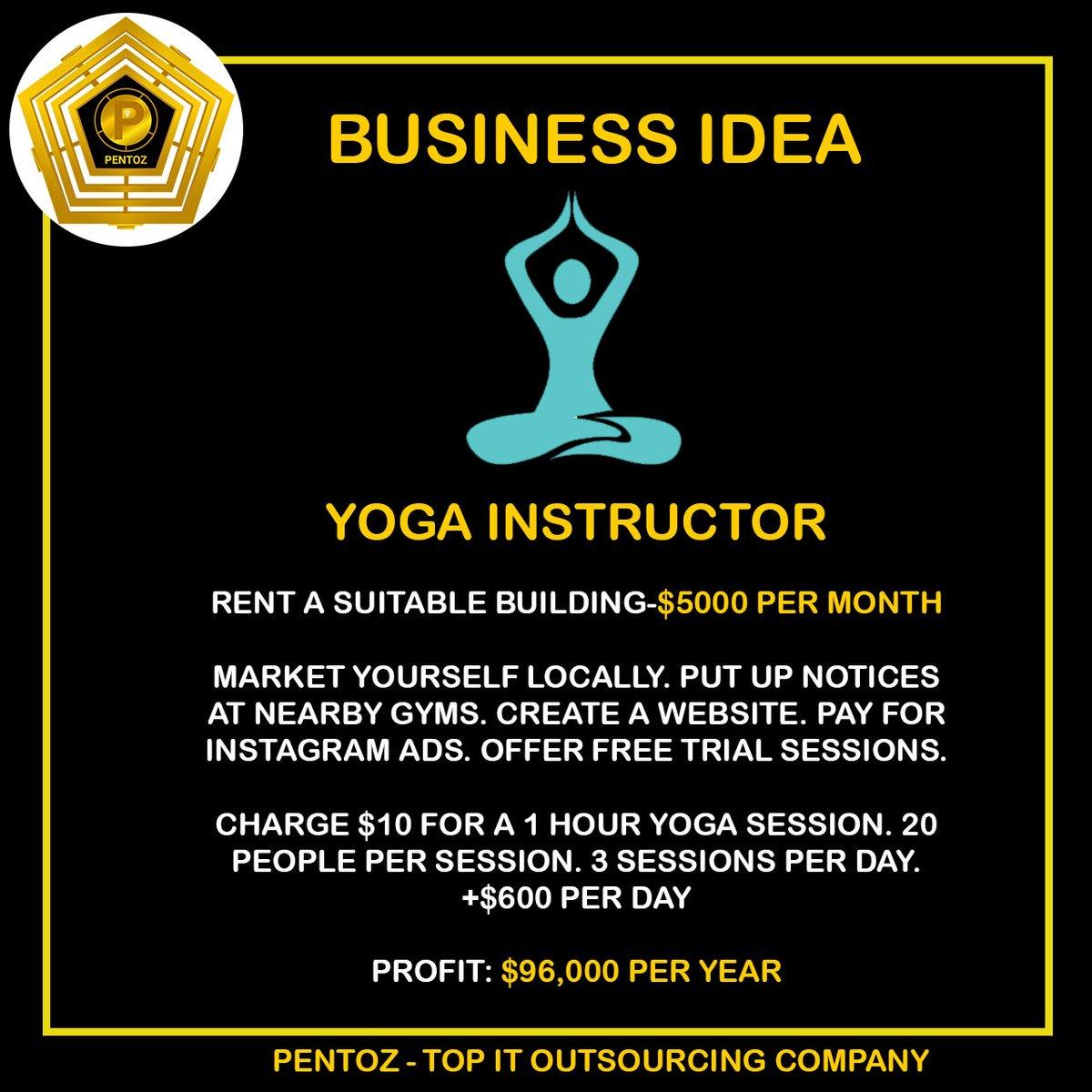 test Twitter Media - Business Idea: Yoga Instructor  Tag an entrepreneur   #business #idea #businessidea #startup #pentoz #innovation #firm https://t.co/FWuWmdhkcr