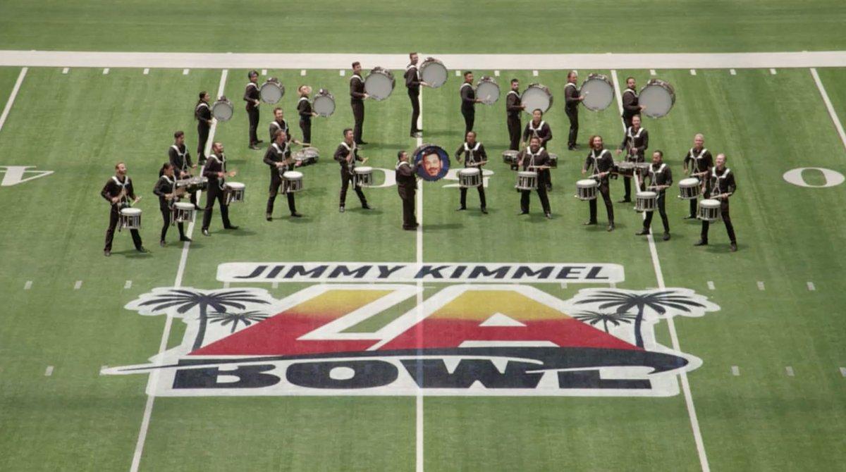 Jimmy Kimmel to Sponsor Bowl Game Next Season at Los Angeles' SoFi Stadium