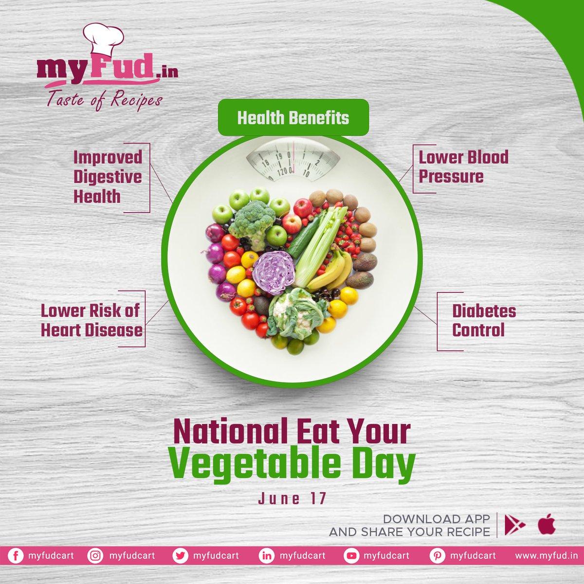 National Eat Your Vegetable Day  #myfudcart #myfud #vegetableday #eatvegetables   #foodies #foodlove #kannur #kerala https://t.co/lbg2m779hp