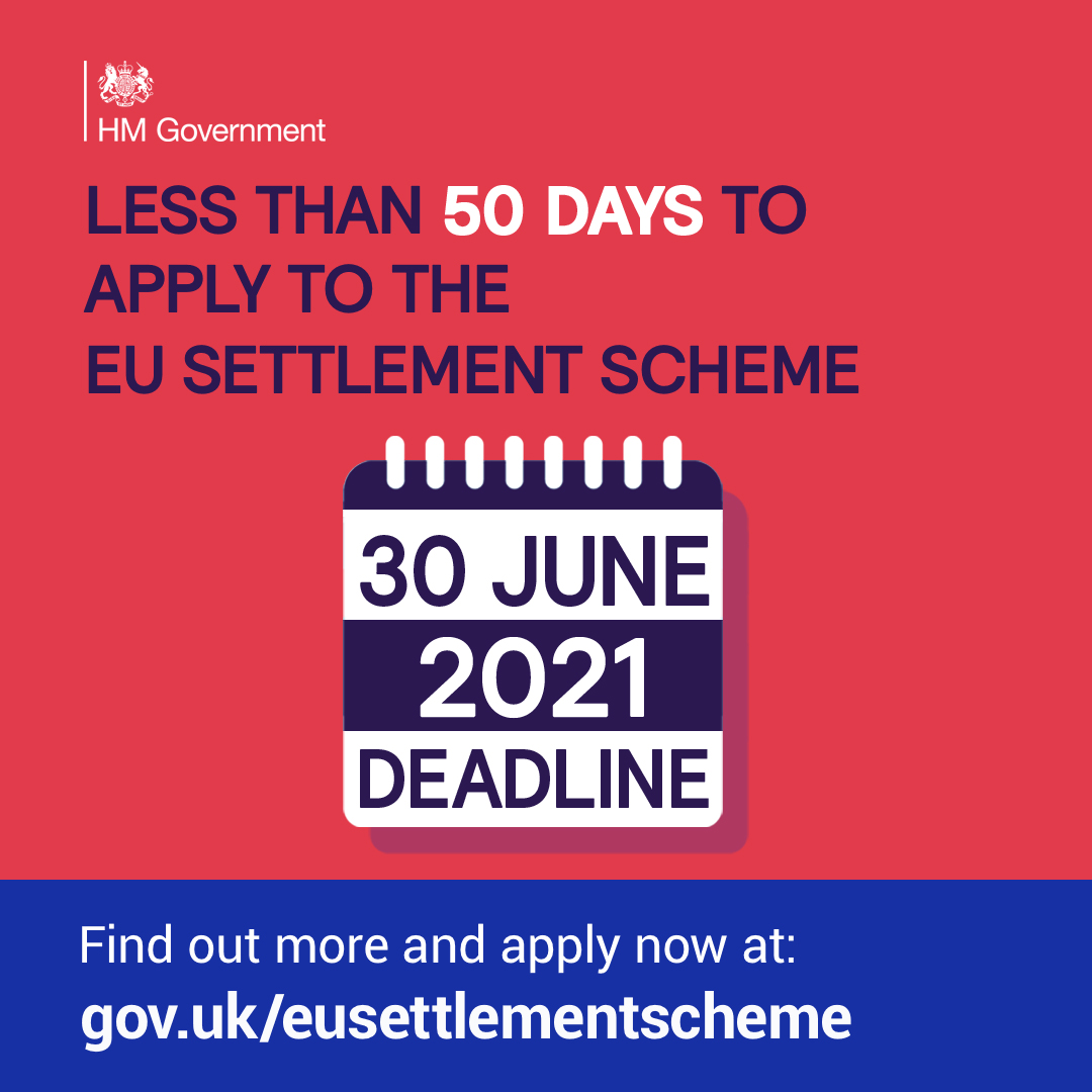 test Twitter Media - There have now been more than 5 million grants of status under the EU #SettlementScheme⭐️If you're an EU, EEA or Swiss citizen resident in the 🇬🇧 and need help applying, there is support available. Find out more and apply at https://t.co/4aMVFC6e0W https://t.co/bKKfL3VX9K