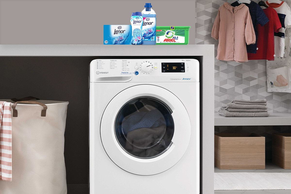 test Twitter Media - @IndesitUK is offering consumers a three-month, free supply of Ariel Original All-in-1 PODS and a Lenor scent boosting bundle, on the purchase of selected Indesit washing machines and tumble dyers.   Read the full story on our blog, available here: https://t.co/Wt0VsxLvey https://t.co/viqH64Jj7f