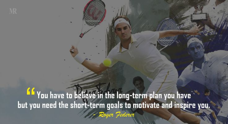 People always wait for the right time or inspiration to act. Setting short-term goals and a long-term agenda will help you build inspiration.  #quotes #love #motivation #life #inspiration #quoteoftheday #instagram #motivationalquotes #rogerfederer #rogerfedererquotes https://t.co/13hDes4MGz
