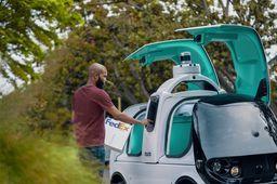 #Nuro séduit #FedEx avec ses #robots de #livraison autonomes https://t.co/95Kwn2mkec #delivery #mobility https://t.co/xViSL5ZuUJ