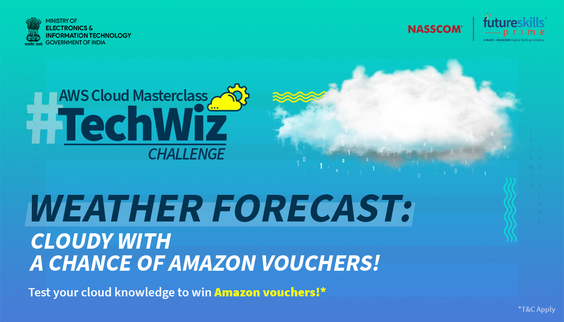 It's raining quiz questions. Think you have lightning-fast responses to our #TechWizChallenge? Here's how you can participate & #win Amazon vouchers worth Rs.1,000! ✓ Make sure to like 👍 & follow all our pages: Facebook, Instagram & Twitter  ✓ Reply with the correct answer https://t.co/IzeFbHIuym