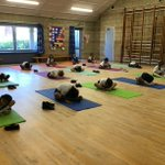 Image for the Tweet beginning: Yoga club is a fantastic