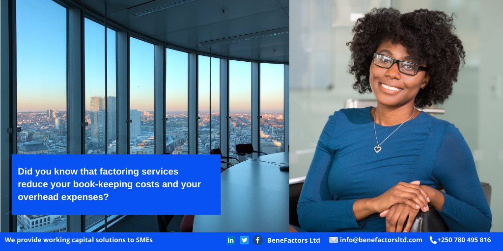 BeneFactors finances your business operations through its factoring service to  enable you pay all salaries and taxes on time. Click here to learn more about who we are https://t.co/jFPCisOjCV #factoring #rwanda #kigali #finance #goodservices #growth #businessinrwanda #startup https://t.co/KOaQ70DgwC