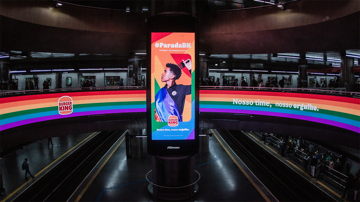 Burger King saca a pasear el Orgullo de sus empleados en esta vibrante campaña brasileña https://t.co/1ctNtykuIx 👈 https://t.co/7Wct3Q4QXy