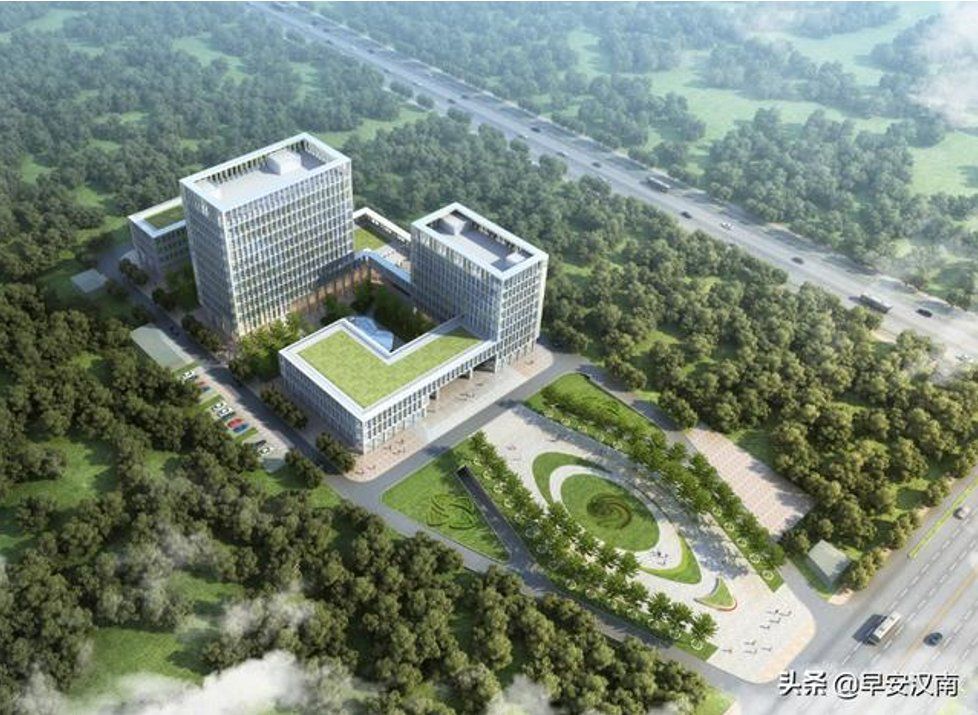 @StephenMcDonell @WHO The new Wuhan CDC under construction, to be operational from January 2023, 500 million Yuans, Hannan District - Wuhan Development Zone, with a laboratory building with 11 floors above ground and 1 underground, and 2-story animal room, with several A/BSL-2 and A/BSL-3. https://t.co/mfnCZxIMaF