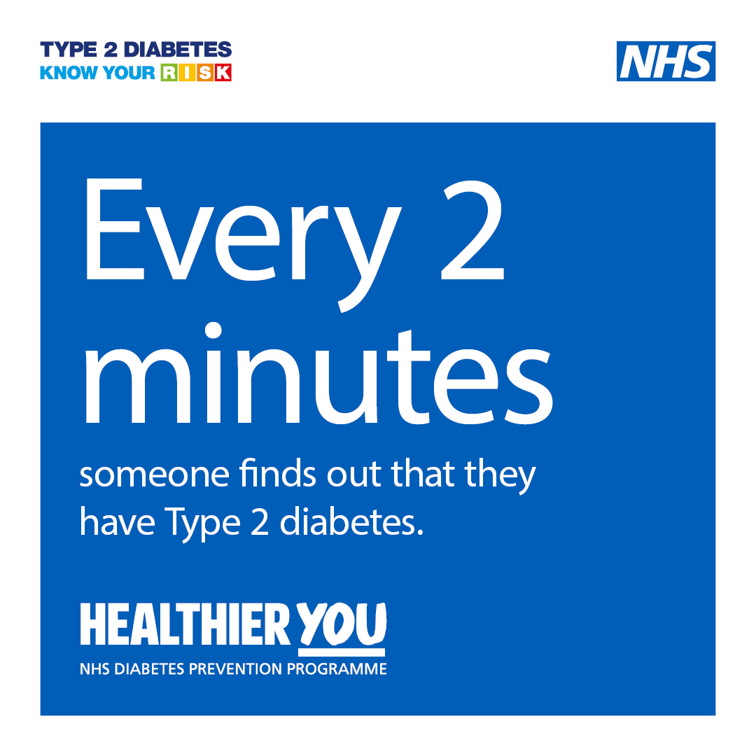 RT @OneLifeSuffolk: You can reduce your risk of developing diabetes by eating a balanced diet, being active and achieving or maintain a hea…
