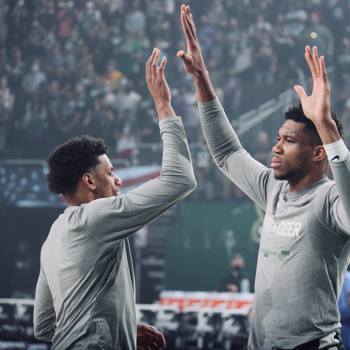 The dream is free... but the grind sold separately.   Bucks fans we are going to need you ! 🔥 https://t.co/6eXEOUkWQ9