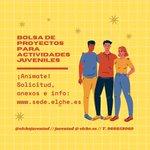 Image for the Tweet beginning: La bolsa de proyectos juveniles
