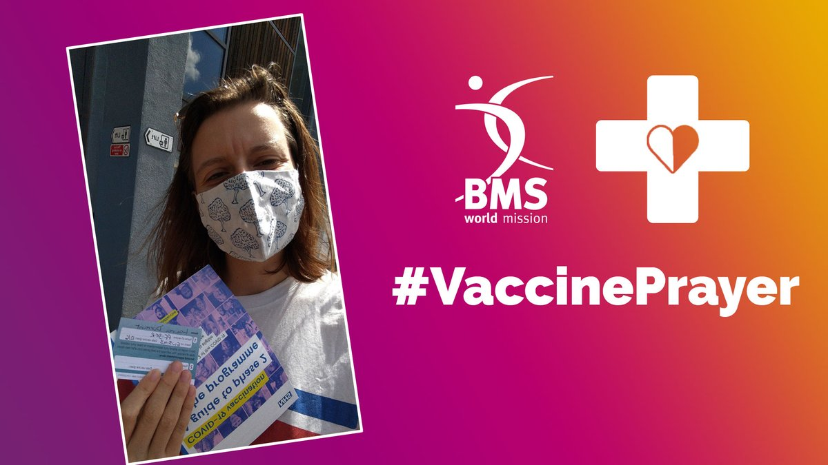 test Twitter Media - #VaccinePrayer  Hey, Laura from the BMS social team here. I've just received my first Covid-19 jab, and I'd love for you to join me in prayer for vaccine justice. Pray for countries like Nepal and India, that they will get access to the crucial vaccine doses they need. https://t.co/dJiWBgNksA
