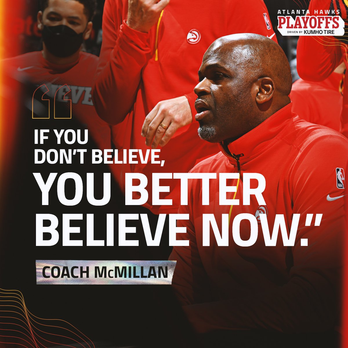 GOOD MORNING.  IT'S TIME TO #BELIEVEATLANTA https://t.co/GN7IXIYthi
