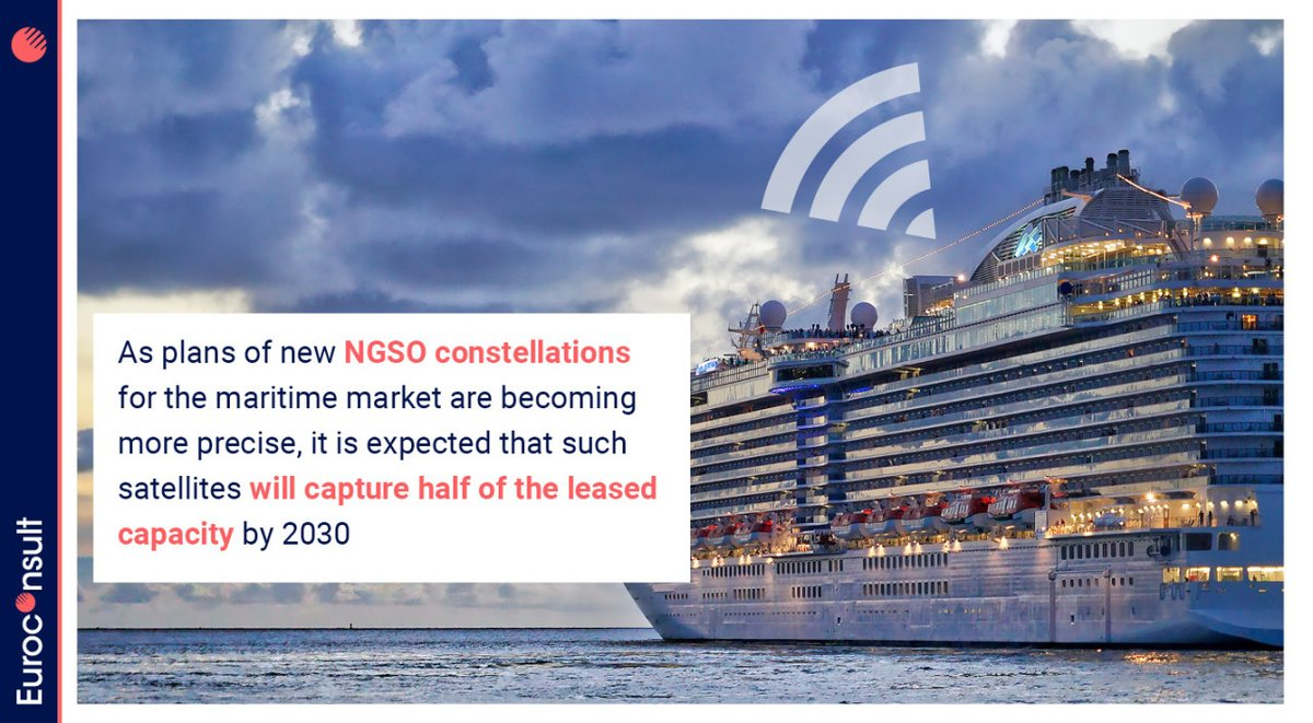 Upcoming #NGSO #constellations from @OneWeb @SES_Satellites @Telesat @SpaceX targeting 🛳️maritime markets are expected to shift sector dynamics. Want to better grasp their impact on #maritimeconnectivity? Look no further than our #Maritime #SatCom report 👉https://t.co/VcvBdlIt0t https://t.co/G5eBLmqvW2