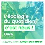 Image for the Tweet beginning: L'écologie des solutions, c'est nous