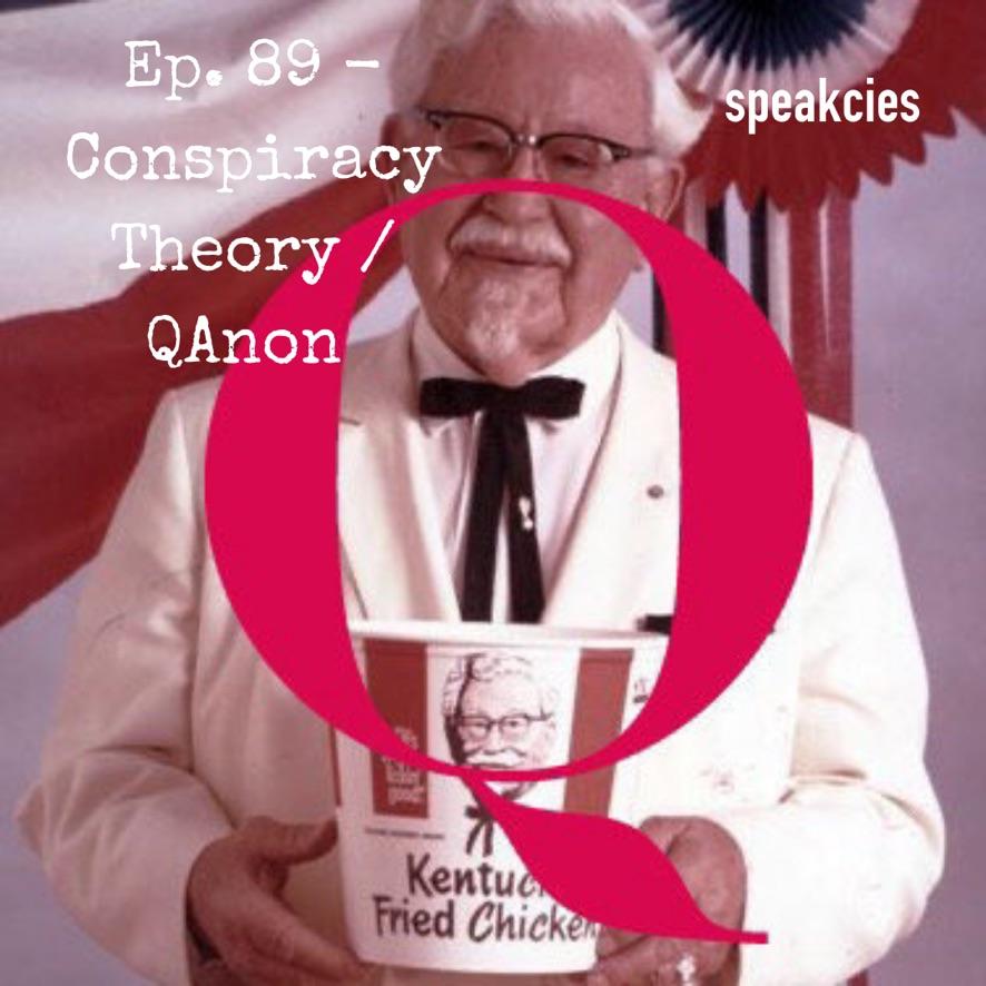 Best of Season 4 @Speakcies   Listen to Ep. 89 - #ConspiracyTheory / #QAnon with Prof. @JoeUscinski of University of Miami @ https://t.co/96idU3820l   #conspiracytheories  #QAnonCult #Epstein #flatearth #5g #bohemiangrove #pentaverate #kfc #colonelsanders #youregonnaeatmychicken https://t.co/lJwqTiXk6s
