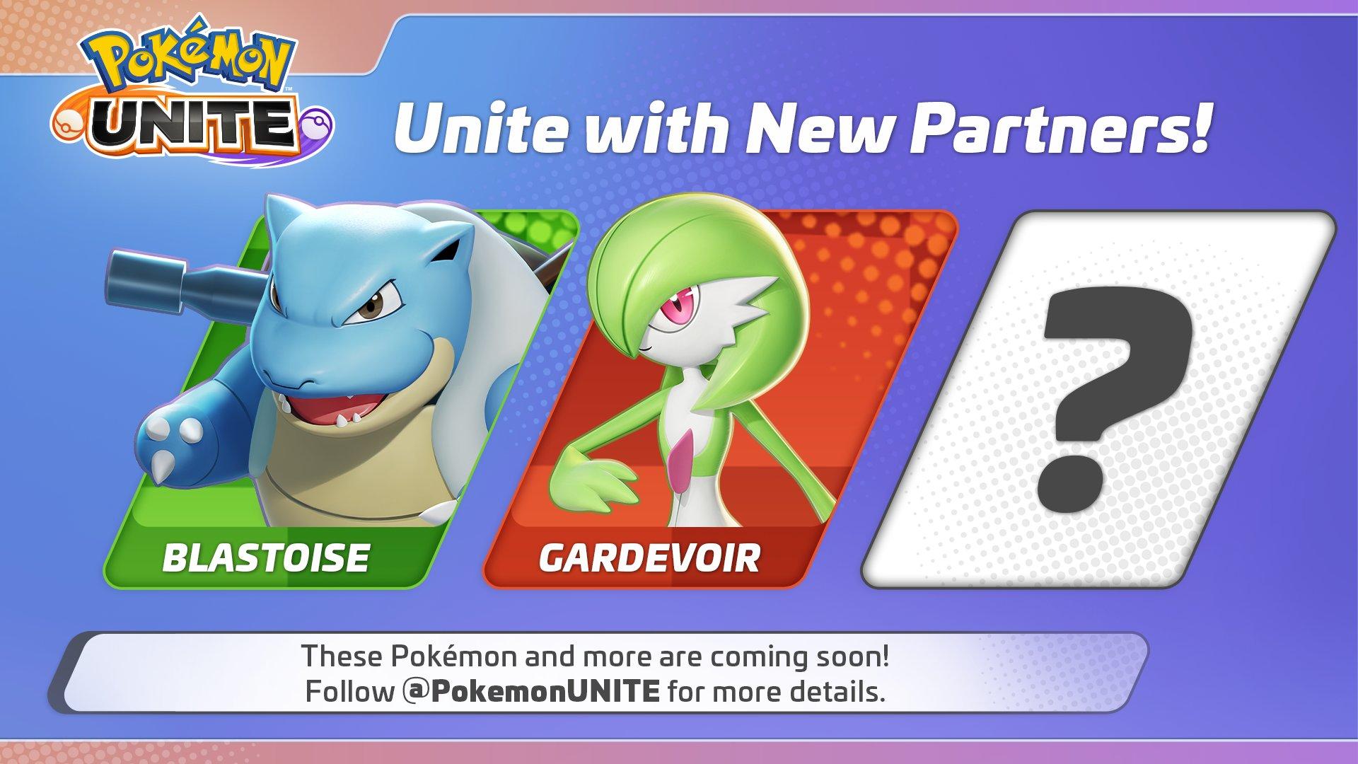 Pokemon Unite new playable characters