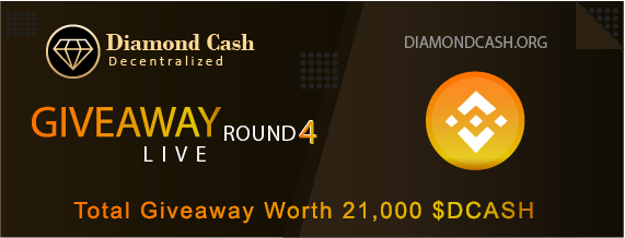🎉 Diamond Cash Giveaway Round 4 worth 21,000 $DCASH is LIVE NOW  🔗https://t.co/CjAnTYsHT1  🏆1000 lucky fans will share 10,000 $DCASH  🥇Top 1 Inviter = 5,000 $DCASH 🥈Top 2 Inviter = 3,000 $DCASH 🥉Top 3 Inviter = 1,000 $DCASH 🏅Next Top 100 Inviters will share 2,000 $DCASH https://t.co/Iv00juYXzw