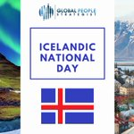 Image for the Tweet beginning: Icelandic National Day is celebrated