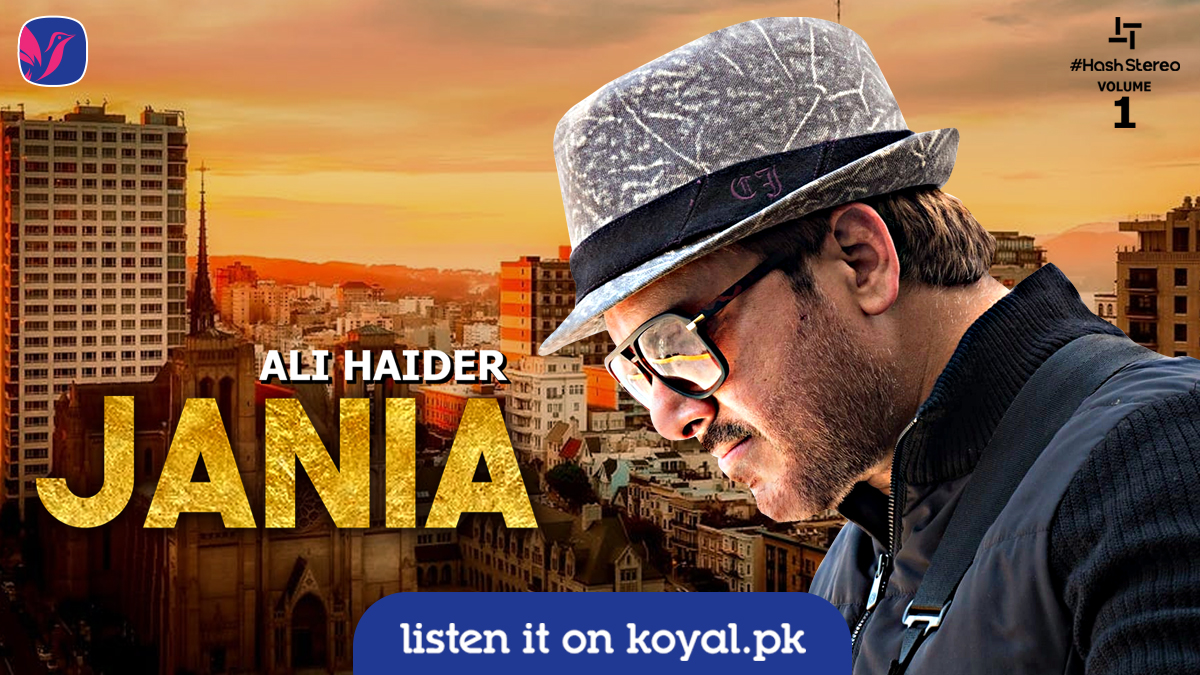 🥰 Jania 🥰  #AliHaider  #New #Song #2021 #Urdu #Hit #Pakistan #Love   Stream now 👉 https://t.co/tAGM4a6kBb https://t.co/wuVf1xmEJA