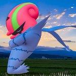 Image for the Tweet beginning: 泉ヶ岳とアギルダー。 #宮城巡り #仙台市泉区 #根白石町 #泉ヶ岳 #田園