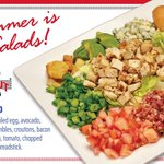 Record heat is a perfect day for a refreshing summer salad! 🥗😁 Stop in & enjoy one of our flavorful salads today!
