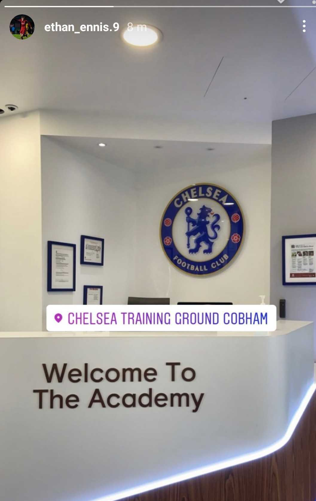 """Dan Coombs on Twitter: """"Had been suggested Liverpool youngster Ethan Ennis  could sign for United. Appears he is off to Chelsea instead...… """""""
