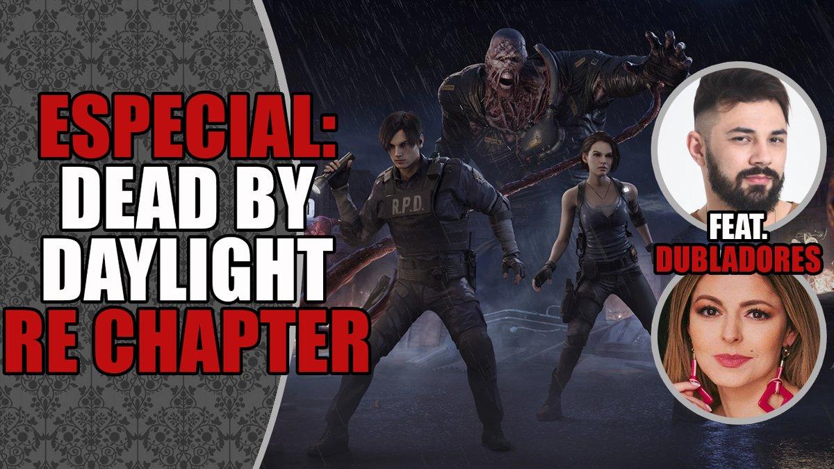 Estamos AO VIVO na @TwitchBR, jogando o capítulo de Resident Evil no Dead By Daylight com convidados especiais: os dubladores do Village, Raphael Rossatto e Rebeca Zadra! Também vou dar um gift card de pREsente para algum sub no chat! Chega mais! 💜🔥 https://t.co/0g0PwPNv5e https://t.co/WOxGOVWjjH