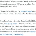 Image for the Tweet beginning: Here's the thing:   Many Republicans