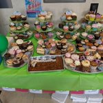 We were really impressed with the Cupcake Sale held by My Homecare Assistance and @TorsionGroup , our neighbours!All for a good cause - to raise money for @alzheimerssoc 🧁
