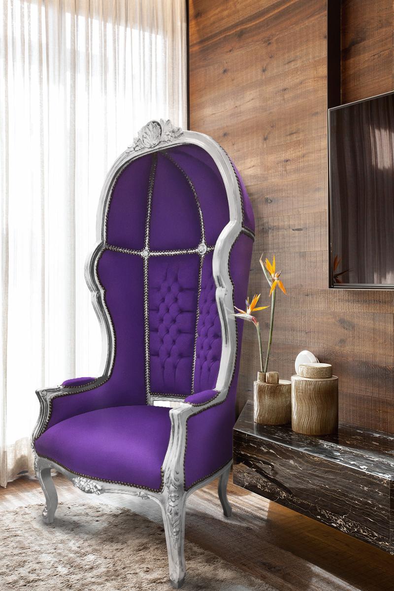 Notre fauteuil carrosse vous mettra dans un confort et une quiétude parfaite ! https://t.co/HOrRz4ubas #Decoration #decor #Armchair #Fauteuil #Meuble #Furniture #Baroque #Porter #Velvet #Velours #Carrosse #French #interior #interieur #Style #Trend #Mauve #Purple #Argent #Silver https://t.co/UGh6JAvxnW