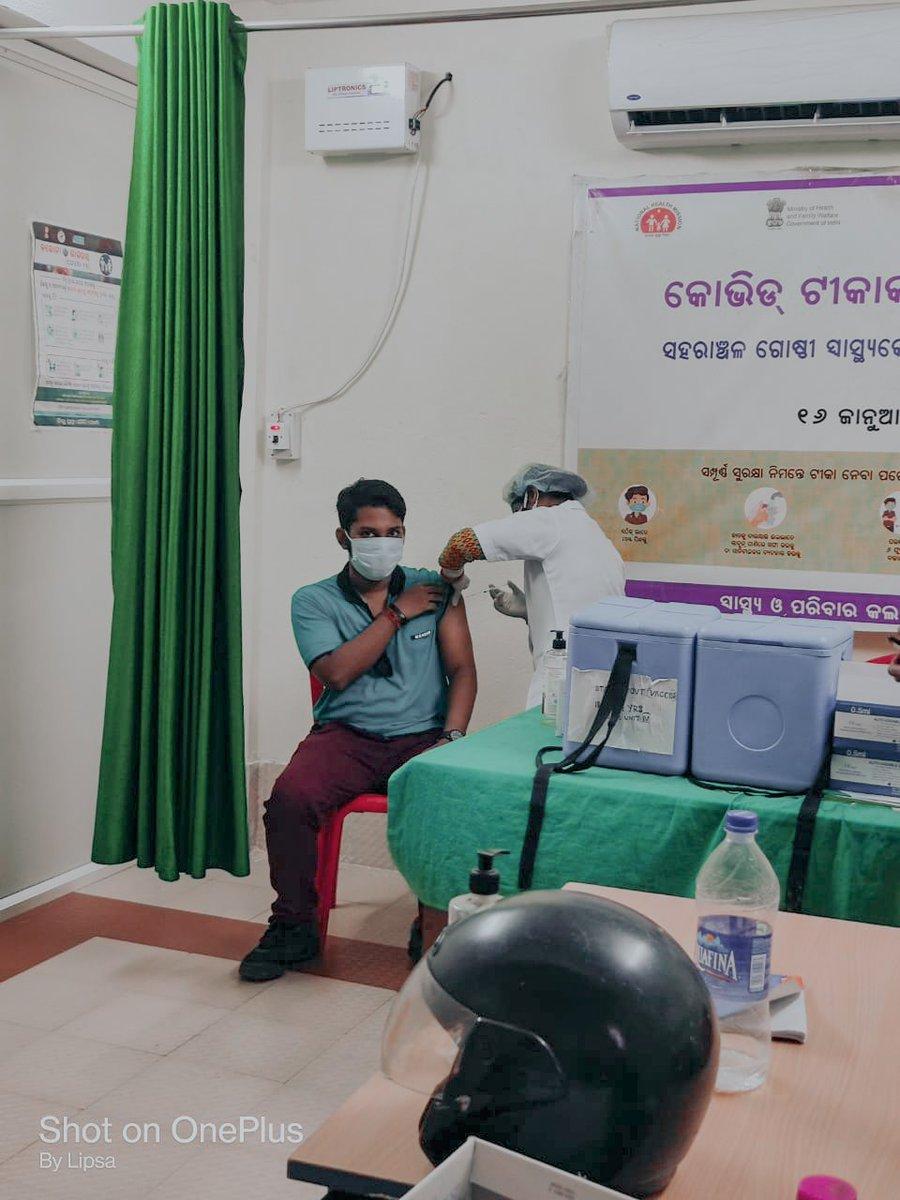2𝙣𝙙 𝙅𝙖𝙗 𝙤𝙛 𝙘𝙤𝙫𝙖𝙭𝙞𝙣 💉 #vaccinated  @bmcbbsr  #2nddose  #2nddosedone💉✔️  #vaccine #ᴠᴀᴄᴄɪɴᴇᴅᴀʏ💉#vaccinationdone✔️ #ᴠᴀᴄᴄɪɴᴇssᴀᴠᴇʟɪᴠᴇs  #covaxin  #covid19vacccine  #stayhomestaysafe #staysafestayhealthy  #staystrong  #StayStrongIndia https://t.co/ePVY9hrhjZ