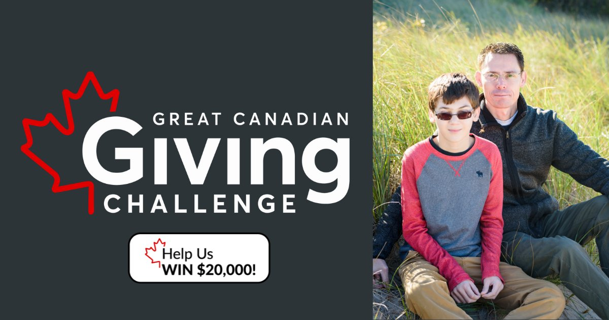 You can help Sunshine win $20,000 donation to help make dreams come true for children living with severe physical disabilities! Every $1 donated to The Sunshine Foundation of Canada via CanadaHelps counts as an entry to try to win. Visit https://t.co/T6fqGm7BCb #Sunshine https://t.co/Vv1FRoPwZi
