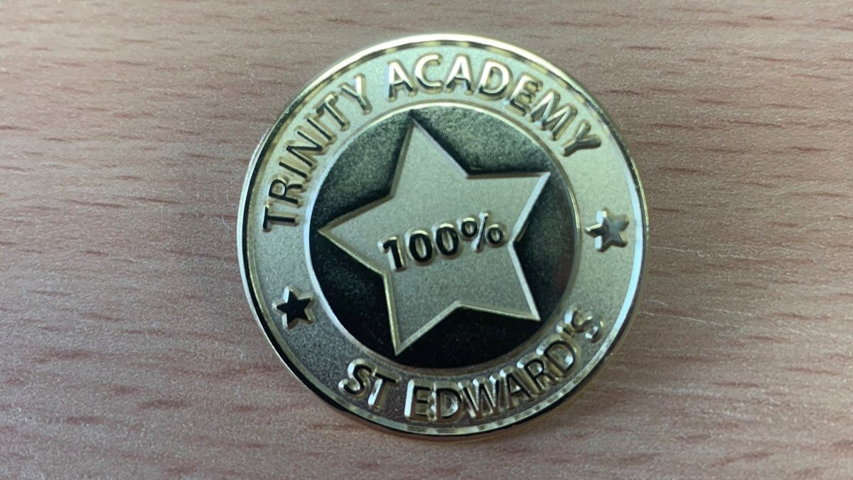 ⭐️ 100% club ⭐️ At TASE every single student will receive their very own 100% attendance badge at the start of the year... the aim is to keep it 🤩 At TASE we know that students with attendance over 96% produce the best results at GCSE. Therefore, being in lessons is vital! ❤️
