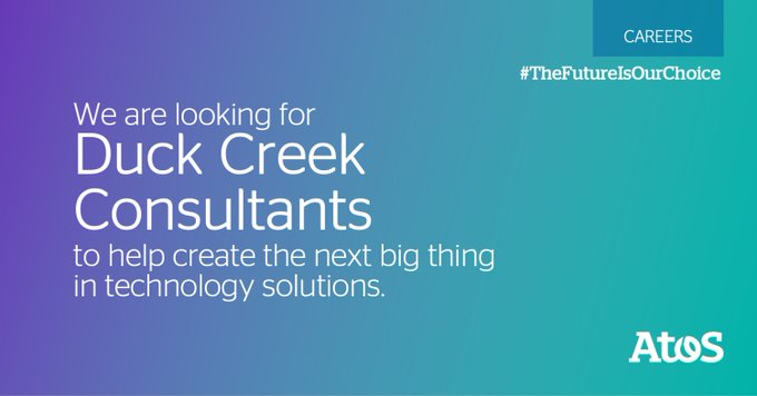We are recruiting Duck Cree Consultants, homeworking anywhere in the mainland US. Apply now:...
